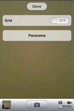 กดสูตรลับ เรียก Panorama Mode ในกล้องของ iOS5