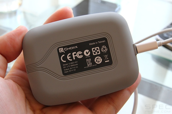 Review Choiix 5600mAh Rechageable Battery Pack 5