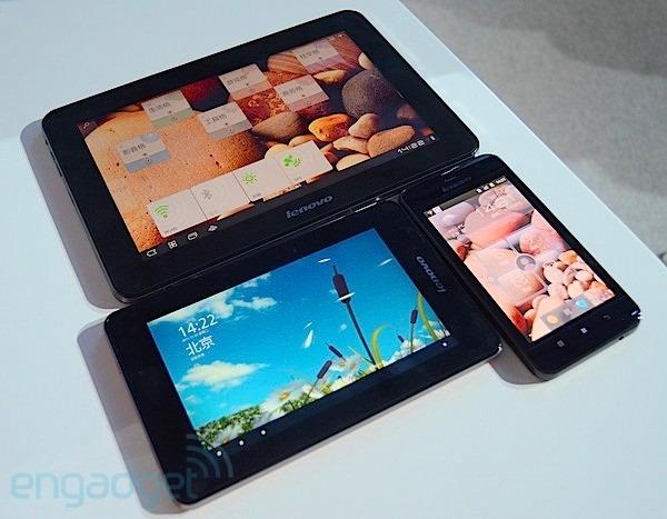 Lenovo เปิดตัว LePad S2007 & LePad S2010 คู่หูแท็บเล็ตต่างจอ พลังดูอัลคอร์ พร้อมอัพเดท Ice Cream Sandwich ในอนาคต