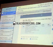 คอนเฟิร์มปีหน้า : เผยโฉมหน้าตา Email, Contacts เเละ Calendar บน BlackBerry Playbook