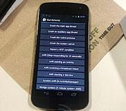 "Samsung Galaxy Nexus เครื่องเเรกของโลกที่ขายมาพร้อมฟีเจอร์พิเศษ ""Report a WTF condition"""