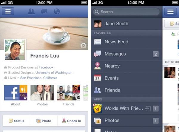 Facebook อัพเดทแอพบน iPhone ใช้งาน mobile Timeline ได้แล้ว, iPad อดใจรออีกไม่นาน