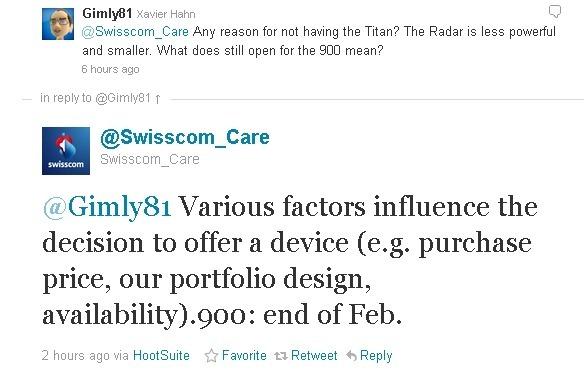 หลุดจากทวีต! Nokia Lumia 900 เตรียมวางขายกับ Swisscom ปลายเดือนกุมภาพันธ์ปีหน้า