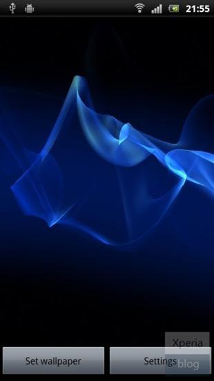 """ดาวน์โหลด Live Wallpaper ตัวใหม่ของ Xperia S ในชื่อ """"Cosmic Flow"""" กันได้แล้ว! ใช้ได้กับ Xperia รุ่นเก่าด้วย"""
