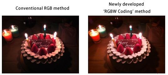 """Sony โชว์สองเทคโนโลยีเพื่อกล้องสมาร์ทโฟน """"RGBW Coding"""" และ """"HDR Movie"""""""