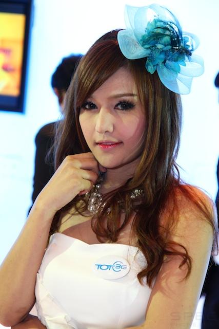 Thailand Mobile Expo 2012 เก็บตกพริ้ตตี้สาวสวยประจำมหกรรมงานมือถือ