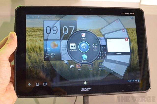 [CES 2012] Acer เปิดตัว Iconia Tab A510 เหมือน A500 เเต่ใช้ Tegra 3 มาพร้อม Android 4.0