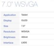 AMOLED คนยาก ?? Samsung Mobile Display เผยข้อมูลหน้าจอใหม่ คาดเป็น AMOLED ขนาด 7 นิ้ว