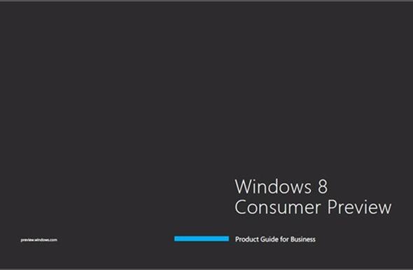 [MWC 2012] Windows 8 Consumer Preview ออกเเล้วพร้อมลิงค์โหลด