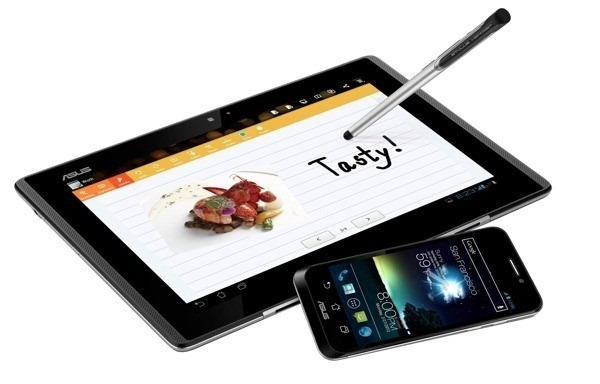 [MWC 2012] Asus เปิดตัว Padfone ลูกครึ่งสมาร์ทโฟน-แท็บเล็ต และ Transformer Pad 300
