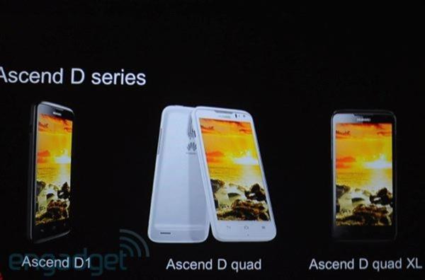 [MWC 2012] Huawei เปิดตัวประมวลผล Quad-Core  K3V2บอกว่าเเรงที่สุดในโลก ปรากฏตัวใน Ascend D Quad