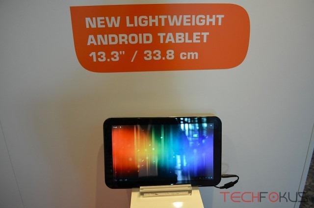 เเท็บเล็ต 10 นิ้วใหญ่ไม่พอ Toshiba จัดให้ 13.3 นิ้วกับ AT330 พร้อม (1) ซิม ดูทีวีได้
