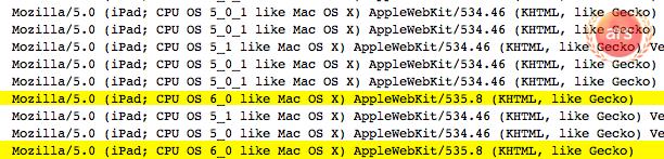 มี Log ตรวจพบ iPad ที่มาพร้อม iOS 6 ใน Cupertino แล้ว คาดอาจมาพร้อม iPhone รุ่นต่อไป