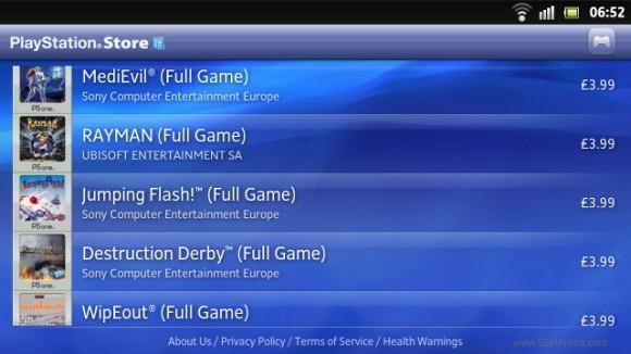 ข่าวดีก่อนขาย !! Sony Xperia S ได้รับการอัพเกรดให้ใช้งาน PlayStation Store ได้แล้ว