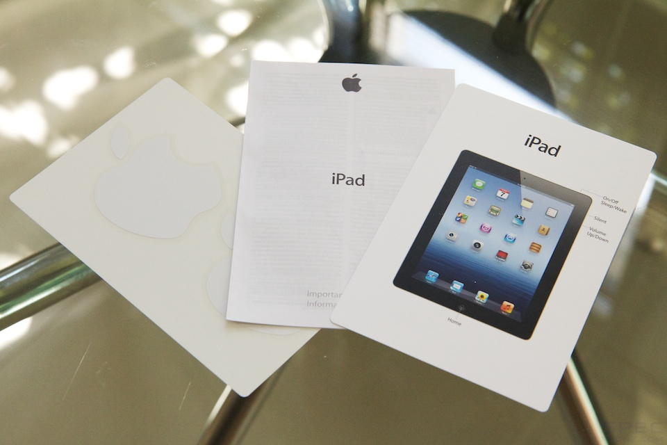 Review The new iPad iPad 3 5