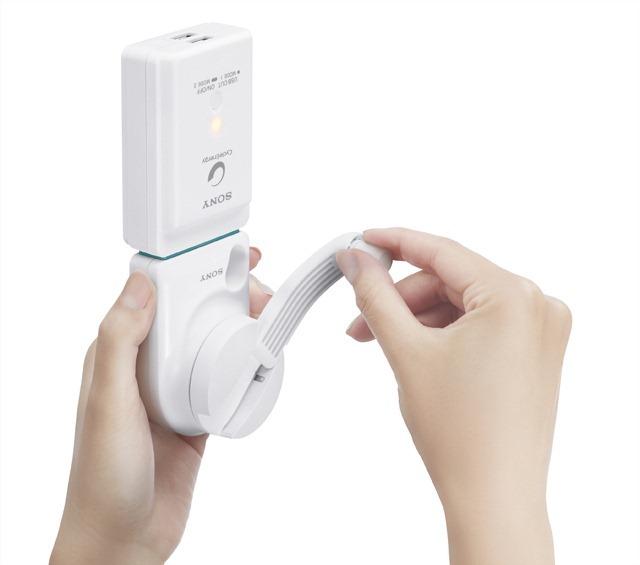 Sony เปิดตัวที่ชาร์จไฟแบบมือหมุนสำหรับมือถือ ดีไซน์ล้ำ