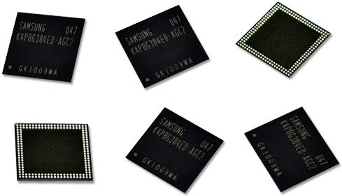 Samsung เริ่มผลิตแรมมือถือแบบ 4Gb-LPDDR2 ที่บางกว่าปัจจุบันแล้ว คาดได้เห็นกันเร็วๆ นี้