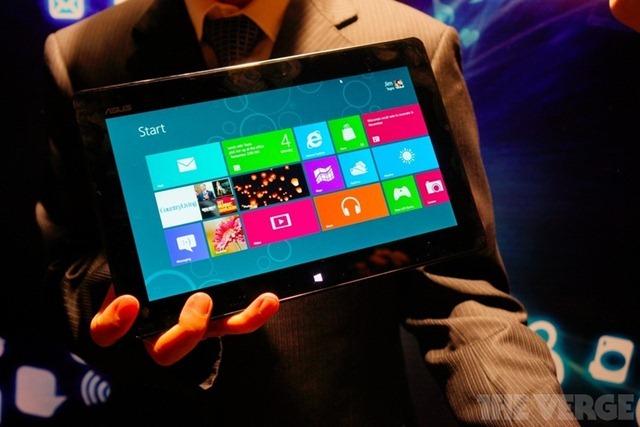 [Computex 2012] Asus เปิดตัว Tablet 600 เเท็บเล็ต Windows RT ใช้ Tegra 3 เเรม 2GB
