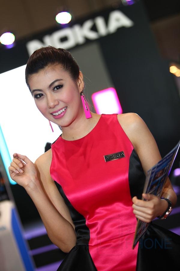 รวมภาพพริตตี้สุดสวยประจำงาน Thailand International Mobile Show 2012