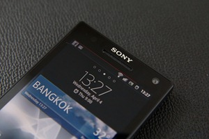 Review Sony Xperia S  5