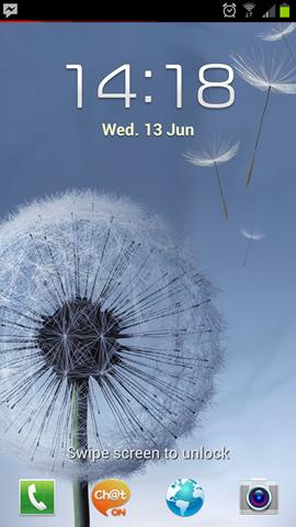 พรีวิว Samsung Galaxy S III ตอน 2 : TouchWiz เเละกล้อง
