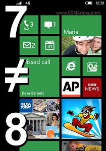 เพราะอะไร ทำไม Windows Phone 7.5 ถึงอัพเป็น Windows Phone 8 ไม่ได้ ??