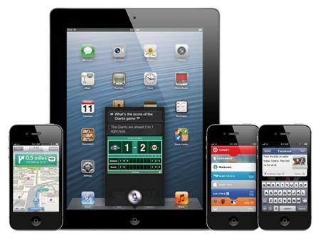 อุปกรณ์ใด สามารถใช้ฟีเจอร์ไหนใน iOS 6 ได้บ้าง ??