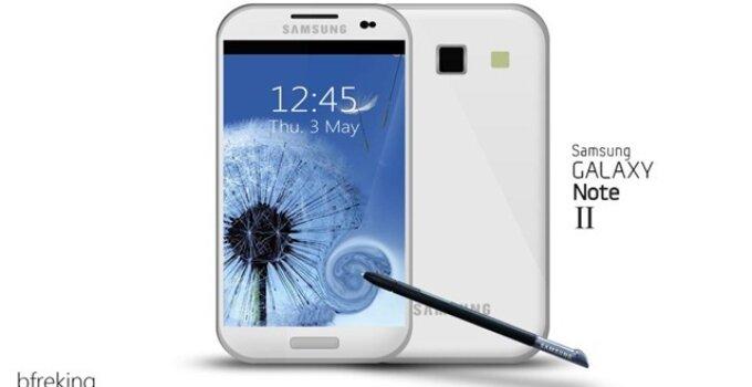 Galaxy Note II concept thumb