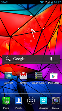 Motorola BLUR Android 4.0 Interface