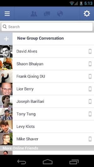 Facebook for Android มีอัพเดตแล้ว จำกัดสิทธิ์เฉพาะ Froyo ขึ้นไปเท่านั้น