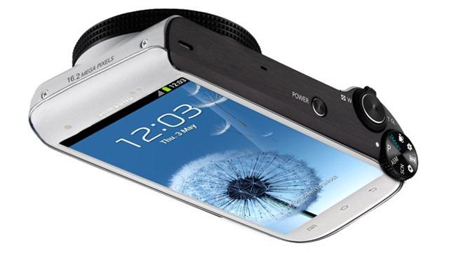Samsung เตรียมออกของเล่นเสริมกล้องคอมเเพค Android สร้างจาก Galaxy S III