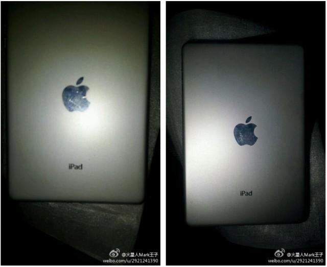 ลือ !! ภาพหลุดฝาหลัง iPad Mini จอเจ็ดนิ้วจากเครือข่ายโซเชียลเมืองจีนมาแล้ว