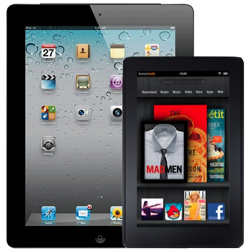 iPad จับมือ Kindle Fire ครองสุดยอดแท็บเล็ตในดวงใจ จากผลสำรวจในสหรัฐฯ