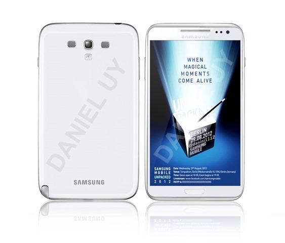 พบรูป(เหมือน) Galaxy Note 2 จะเป็นอย่างไรถ้าใช้การออกเเบบจาก Galaxy S III