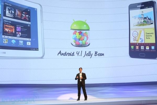 Samsung ประกาศแล้ว อัพเดต Jelly Bean ของ Galaxy S III และ Note 10.1 อีกไม่นานเกินรอ
