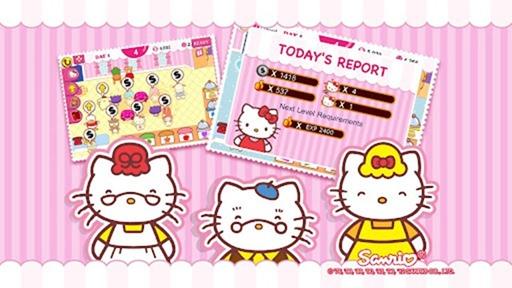 Hello Kitty Cafe บริหารจัดการคาเฟ่น่ารักๆไปดับตัวการ์ตูนจาก Sanrio