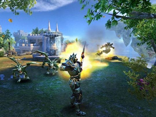 ตัวอย่างเกมเพลย์ Wild Blood ที่สร้างจาก Unreal Engine ของ Gameloft