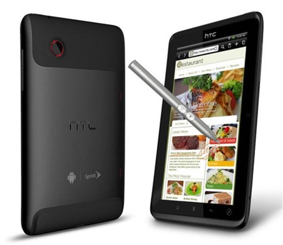 HTC เตรียมออก Flyer 2 เเท็บเล็ต 7 นิ้ว ใช้ซีพียู Snapdragon S4