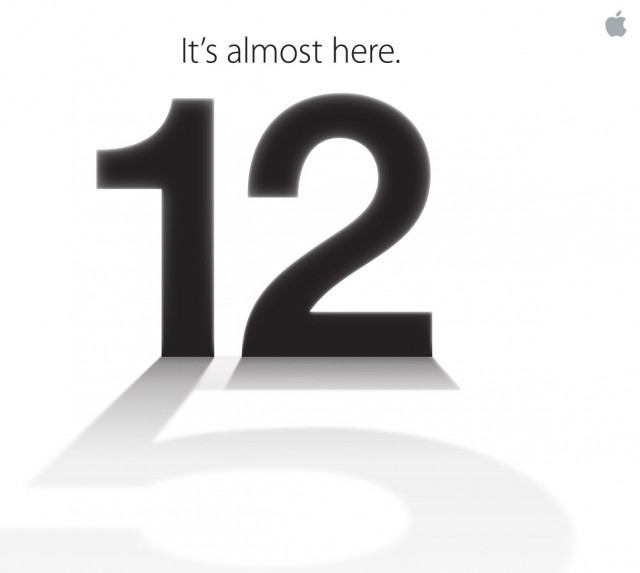 Official : Apple ส่งบัตรเชิญงานเปิดตัว iPhone 5 แล้ว วันพุธที่ 12 กันยายนนี้