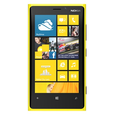 Nokia Lumia 920 Yellow Front