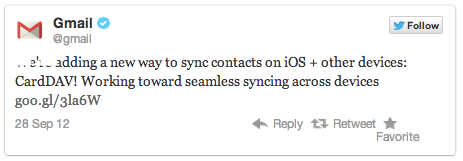 Google ประกาศเปิดตัวโปรโตคอล CardDAV ที่ช่วยให้การซิงค์ Google Contact บน iOS สมบูรณ์แบบแล้ว