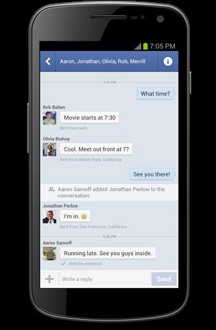 Facebook ตัวหลักเเละ Messenger ออกอัพเดทบน Android ปรับหน้าส่วนข้อความใหม่ทั้งหมด