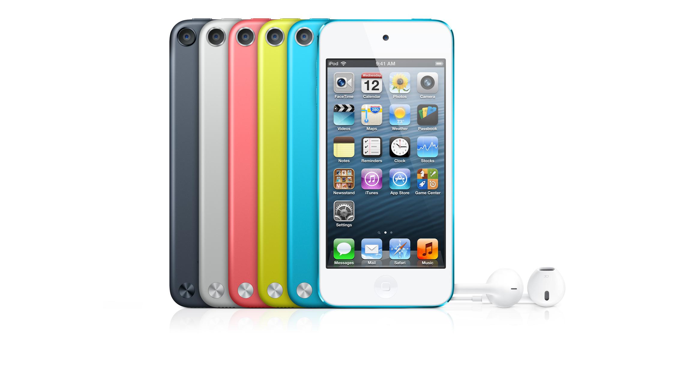 รวมเรื่อง iPod Touch, iPod Nano และของอื่นๆ รุ่นใหม่ในงานเปิดตัว iPhone 5