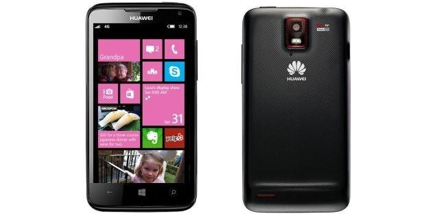 Huawei เตรียมออก Windows Phone 8 ราคาเริ่มต้นหนึ่งหมื่นบาท