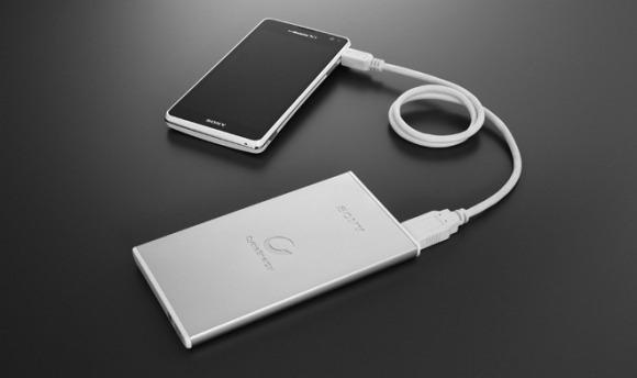 Sony เปิดตัว External Battery สุดหรูทำจากอลูมิเนียมสองรุ่น 3,500 mAh เเละ 7,000 mAh