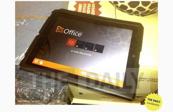 ตัวแทน Microsoft ยืนยัน Office สำหรับ iOS และ Android มีกำหนดเปิดตัวมีนาคม 2556 นี้