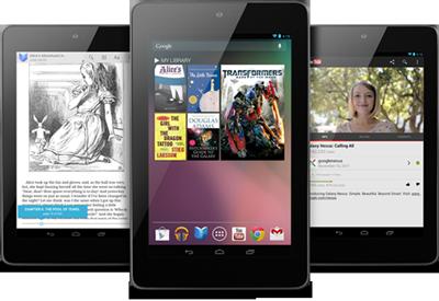 ลือ Google เตรียมเปิดตัว Nexus 7 รุ่นล่างสุด ราคา 99 ดอลลาร์สหรัฐ