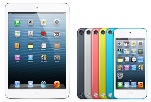 iPad mini กับ iPod Touch Gen 5 จะเลือกซื้ออะไรดี ถึงจะเหมาะกับการใช้งานของคุณ