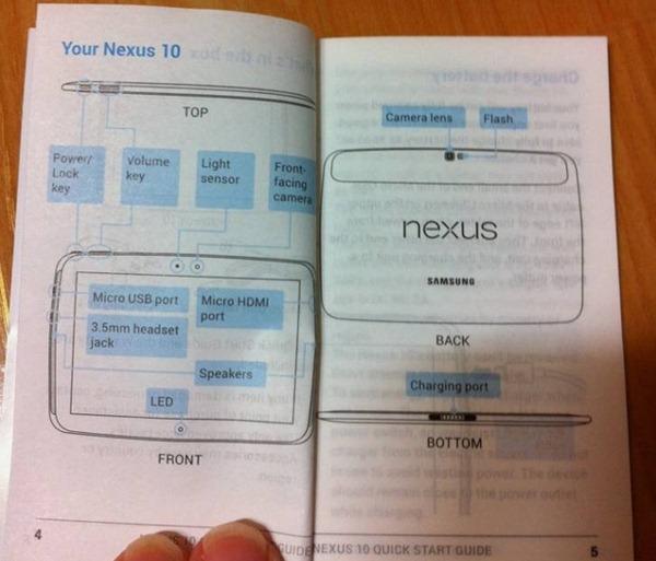 หลุดเอกสาร Samsung Nexus 10 มีตัวตนอยู่จริง เปิดตัวพร้อม Nexus 4 เเน่นอน