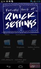 Quick Setting : ฟีเจอร์ลับใน Android 4.2 ซ้อนหลังหน้า Notification